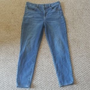 American eagle new curvy fit jeans